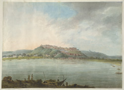 The fort of Chunargarh seen from across the river
